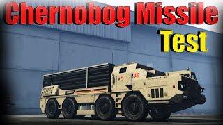 Gta 5 Online | Chernobog Missile Test - Is It Worth It?