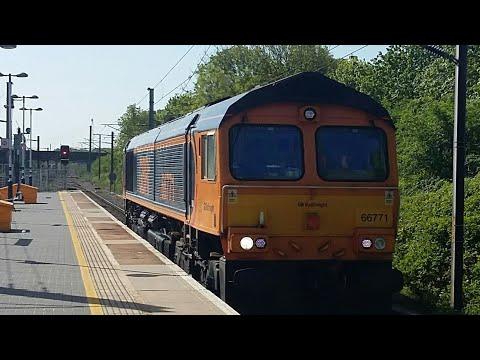 Trains At Stevenage 7/5/18