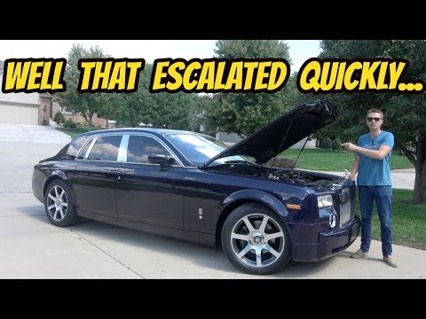 Was Buying the Cheapest Rolls-Royce Phantom in the USA Worth It? Totaling Up Repairs...