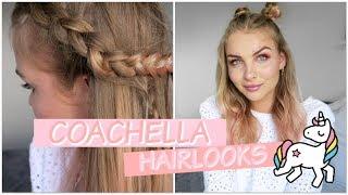 FESTIVAL HAIR TUTORIAL 🦄 COACHELLA EDITION | Patrizia Palme