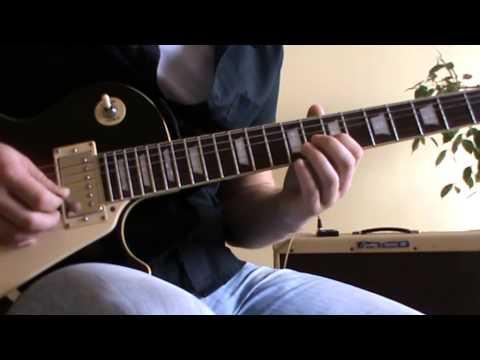 Carlos Santana Europa guitar lesson + TAB