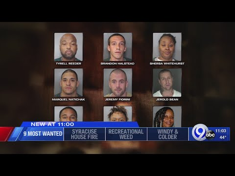 Central New York's 9 Most Wanted