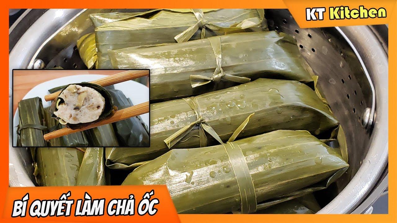 Bí Quyết Làm CHẢ ỐC DAI GIÒN NHANH GỌN - Cách Làm Nước Mắm Gừng Ngon| Vietnamese Escargot Rolls