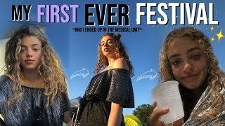 My First Ever Festival: Falls Festival Byron Bay Vlog! (& I ended up in the medical unit haha)