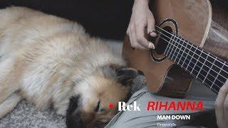 Rihanna: man down - fingerstyle guitar