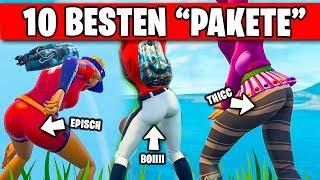 🥇 10 BEST Skins to THICC are 👀 | Fortnite Top 10 Ranking German German