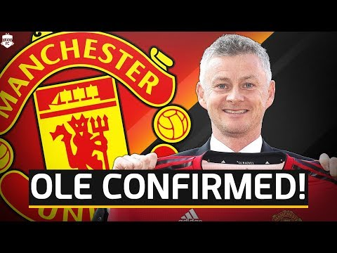 OFFICIAL! Solskjaer Appointed Manchester United Manager! Man Utd News