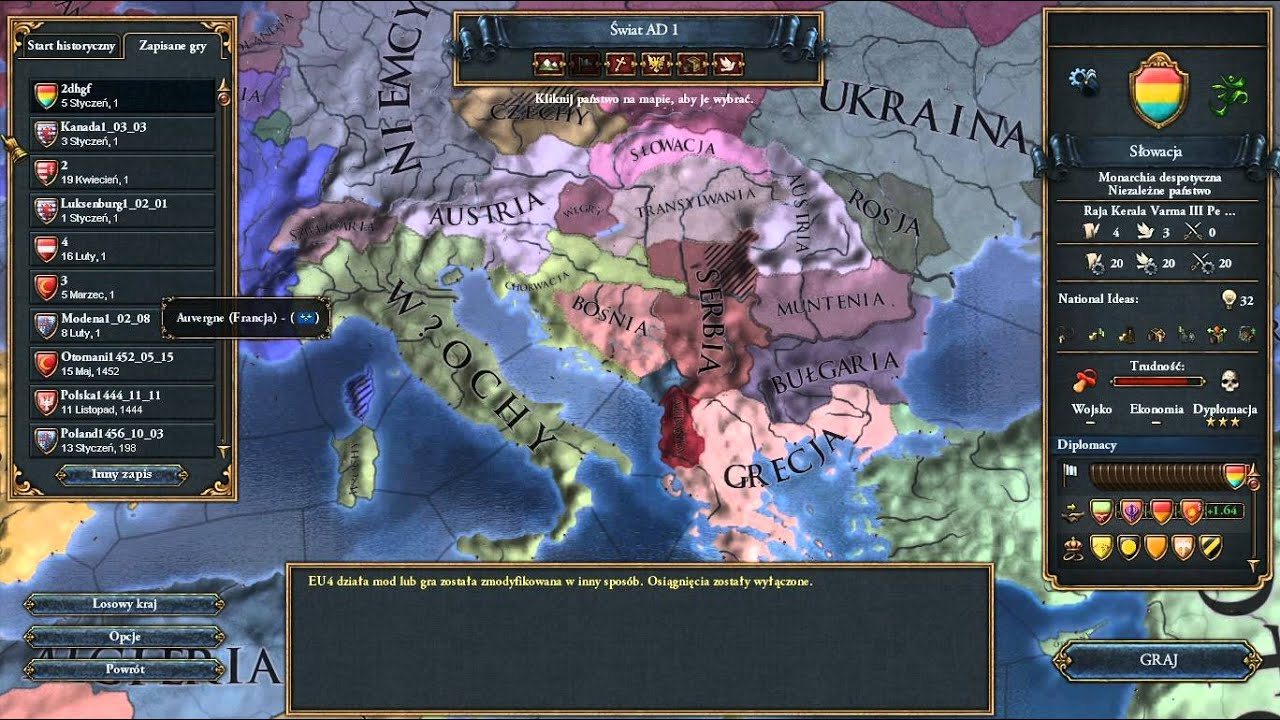 Jak zrobić własny kraj w europa universalis IV  : LightTube