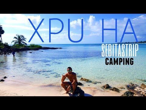 XPU HA Quintana roo México °camping °vlog° experiencia° costos° ft CHEPEZ VIAJERO @sebitastrip
