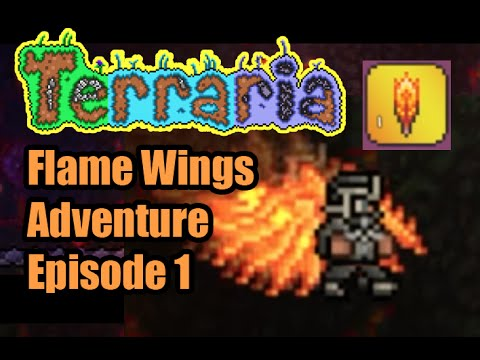 How to make flame wings in terraria ios