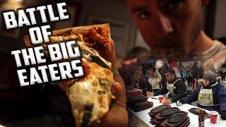 BATTLE OF THE BIG EATERS | FINALE, JOHN'S PIZZA, SIRLOIN STEAK