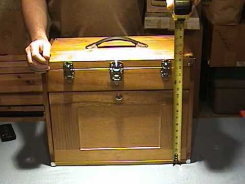 Wooden Knife Chest Youtube