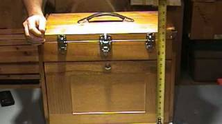 Wooden Knife Chest