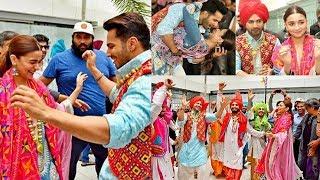 Alia Bhatt And Varun Dhawan Kalank Promotion In Jalandhar