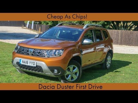 Cheap As Chips! Dacia Duster First Drive