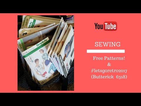 [169]Sewing| #Letsgoretro2017 & Free Patterns