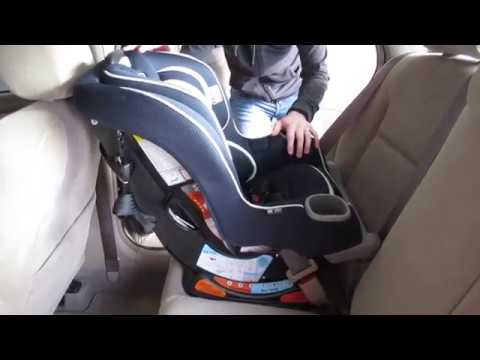 How To Install Graco Extend2Fit Convertible Car Seat Rear Facing