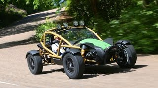 2015 Ariel Nomad - Matt Prior drives the Atom