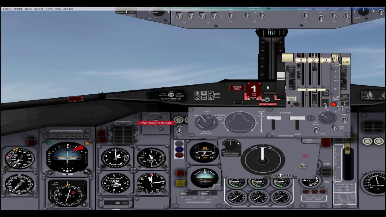 How does the FSX Boeing 727 Autopilot Work? [TUTORIAL]
