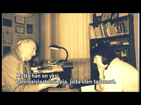 Inna Rogatchi discusses Simon Wiesenthal in an interview with Risto Huvila on AlfaTV