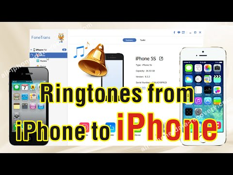 How to Transfer Ringtones from iPhone to iPhone 7/6S Plus/6S Without Any Hassle