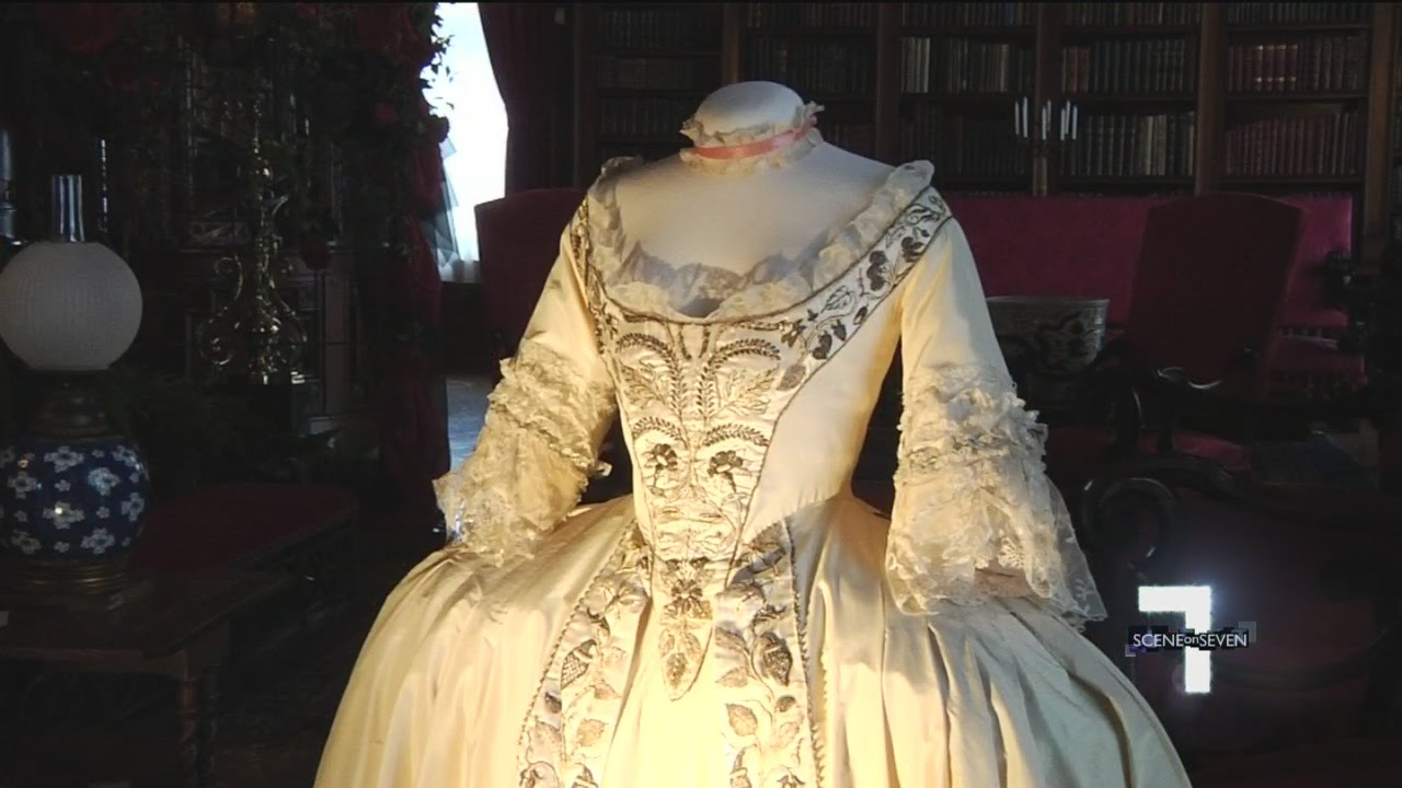 """Biltmore House Shows Off Oscar-Winning """"Wedding Gowns In"""