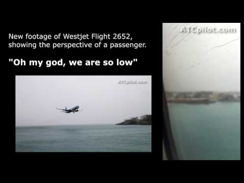 "Thumbnail: NEW FOOTAGE: Passenger video of Westjet Flight 2652 @ St. Maarten - ""Oh my god we are so low"""