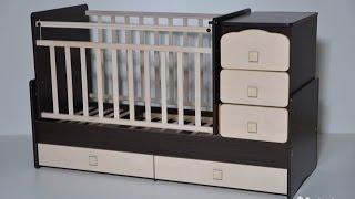 видео детские кроватки трансформеры