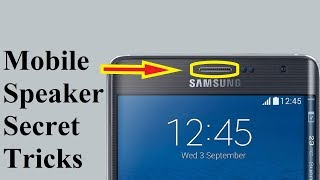 Mobile Speaker Secret Tricks