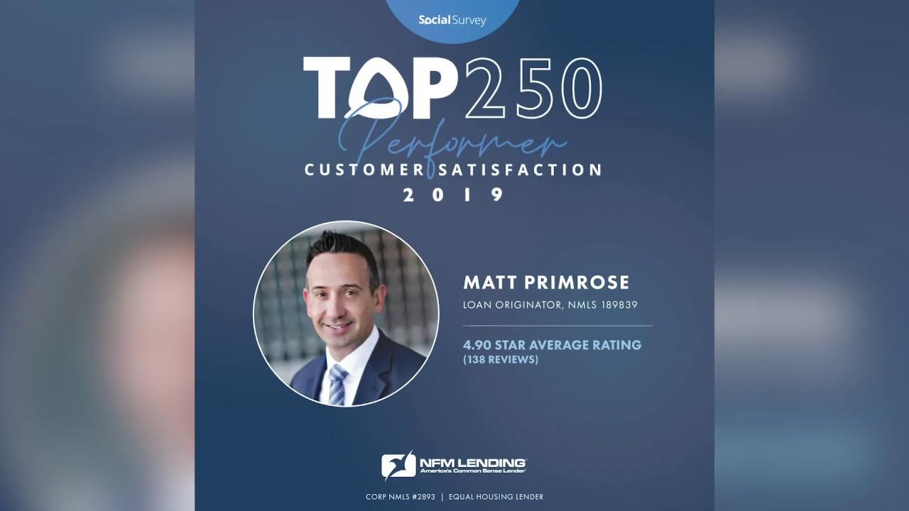 Top Producer Series: Matt Primrose