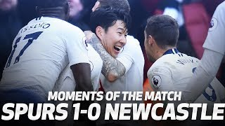 SONNY SHOWS THE LOVE | MOMENTS OF THE MATCH | Spurs 1-0 Newcastle