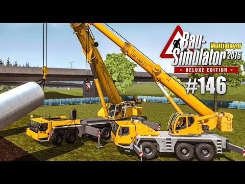 Bau-Simulator 2015 Multiplayer #146 - Windrad-Bauteile abholen! CONSTRUCTION SIMULATOR Deluxe |