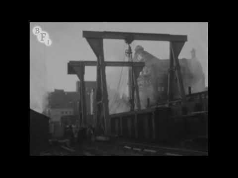 Reconstruction of Hill Street Birmingham (1949) | BFI National Archive