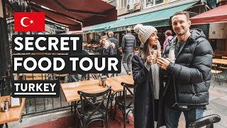 IS TURKISH FOOD GOOD?   Secret Food Tours Istanbul Kadikoy   Turkey Travel Vlog