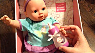 Target Circo Feed and Sleep Baby Doll Unboxing