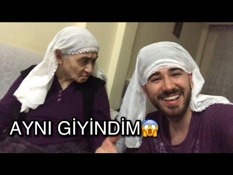 ANANEM GİBİ GİYİNDİM! | GÜLME...