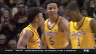 Michigan State at Minnesota - Men's Basketball Highlights
