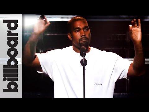 Kanye West Speech Highlights at The 2016 MTV Video Music Awards | Billboard News
