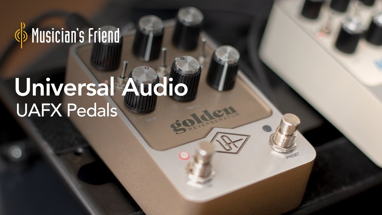 Universal Audio UAFX Effects Pedals Demo with Meg Duffy - All Playing, No Talking