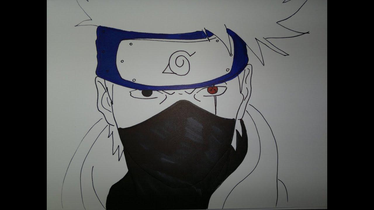 Drawing Kakashi Hatake 息子カカシを描画する方法 Youtube