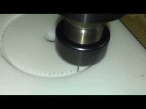 4 th axis 30l050 pulley delrin nero doovi for Damato macchine utensili