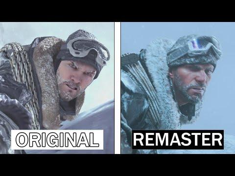 Call of Duty: Modern Warfare 2 Remastered | Original VS Remaster | Graphics Comparison
