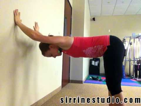 """Wall Shoulder Openers"" Yoga Sequence"