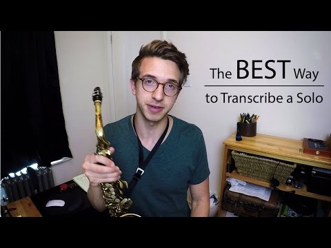 The BEST Way to Transcribe a Solo