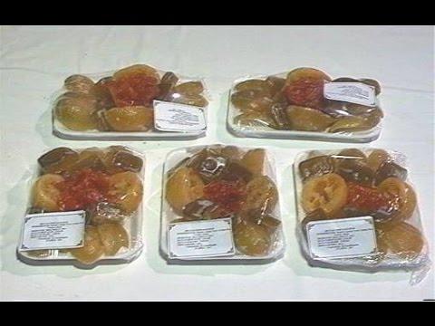 Curso Como Produzir Frutas Cristalizadas - Embalagem e Comercialização