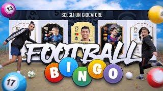 ⚽🥅 FOOTBALL BINGO CHALLENGE! vs ENRY LAZZA! FOOTBALL vs FIFA 20!