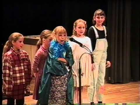Joe Fortunato Hour -  Annie by Gleason School 2nd + 3rd Graders   June 11, 1997