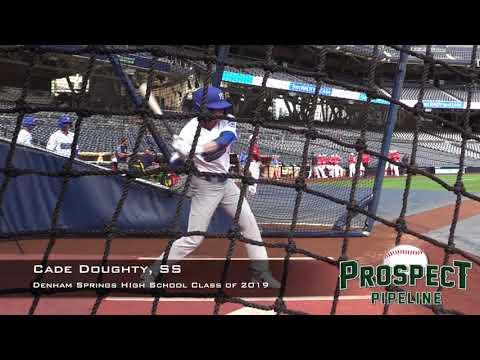 Cade Doughty Prospect Video, SS, Denham Springs High School Class of 2019