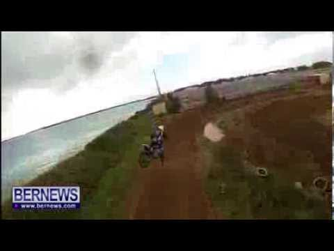 Bermuda Motocross Helmet Cam, Dec 26 2013
