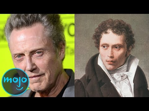 Top 10 Celebs Who Look EXACTLY Like Historical Figures